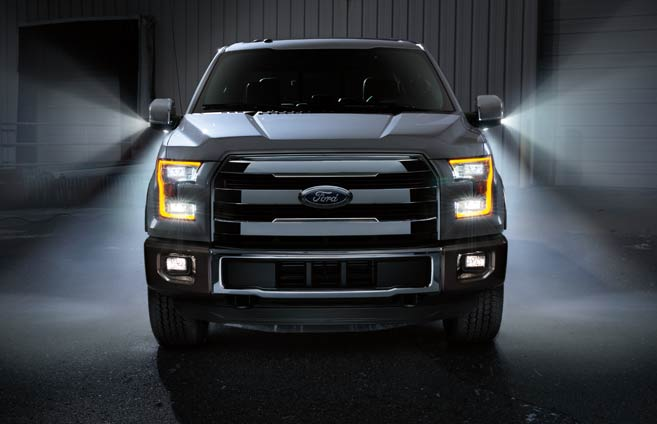 2015 Ford F-150 mirror LED spotlights Raleigh Wendell