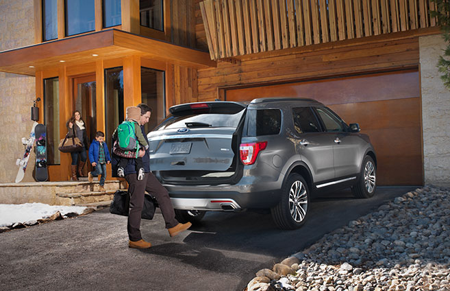 2016 Ford Explorer power liftgate Raleigh